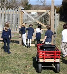 Earth Week 2012: Planting the Lower School Garden