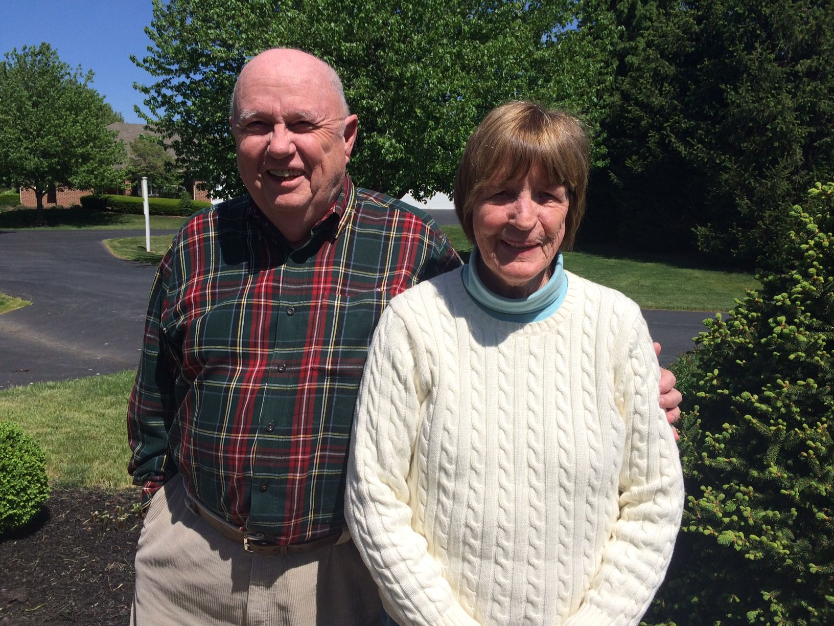 The DeGroots, Ken '53 and wife Betty GP'03 at their home in Carlisle, Pennsylvania