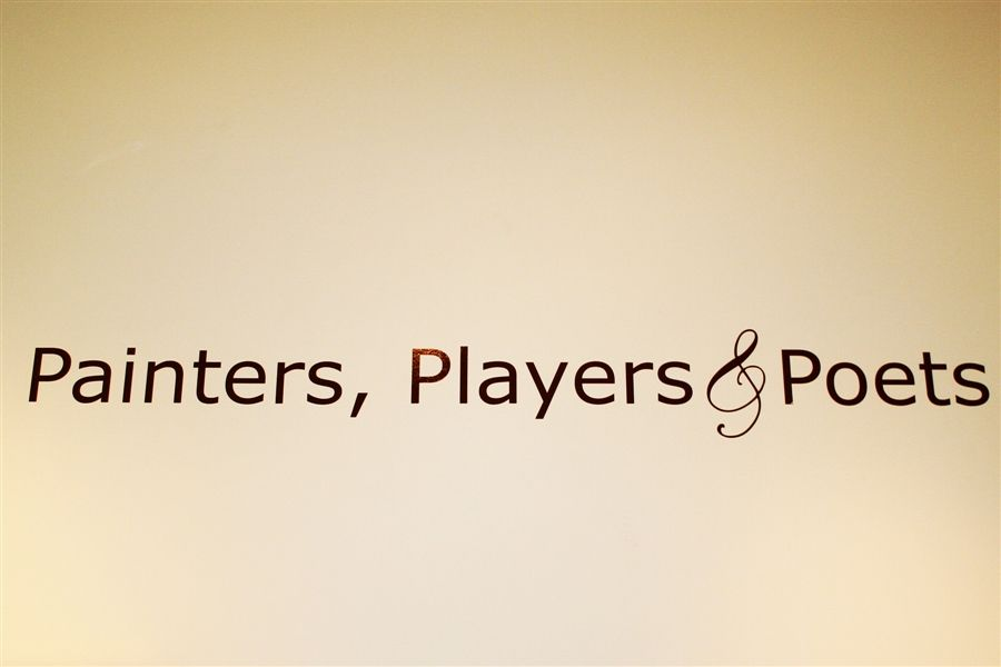 Painters, Players and Poets
