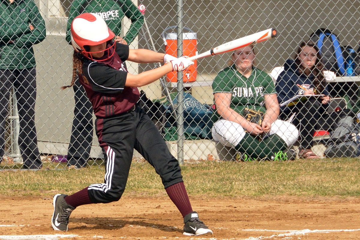 Varsity Softball vs. Sunapee (Wentz)