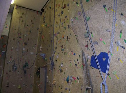 CA was one of the first schools in Colorado to have a climbing wall.