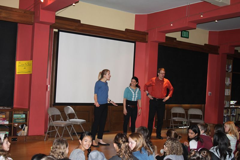 WORD Day kicks off with improv!