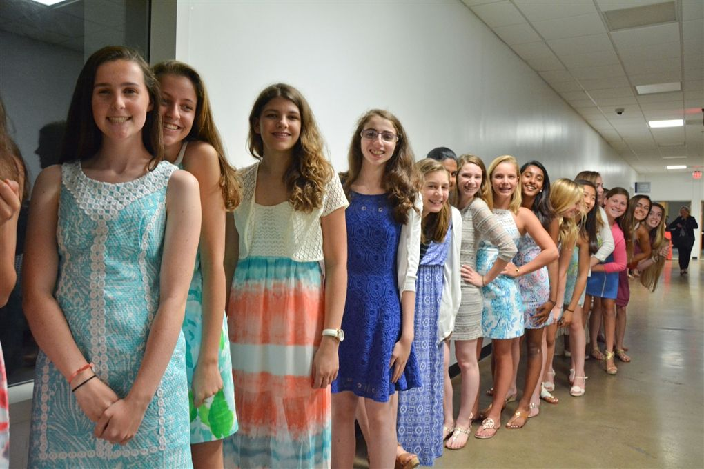 Middle School Recognition Ceremony: June 3, 2015