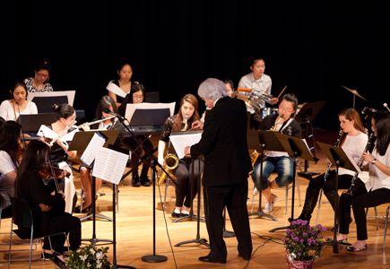Fontbonne's orchestra performs at Afternoon of the Arts