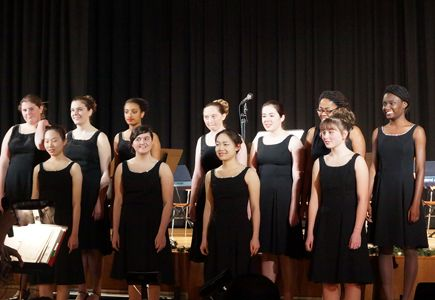 The Fontbonne Jazz Choir
