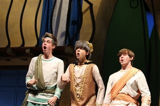 US Musical: A Funny Thing Happened on the Way to the Forum